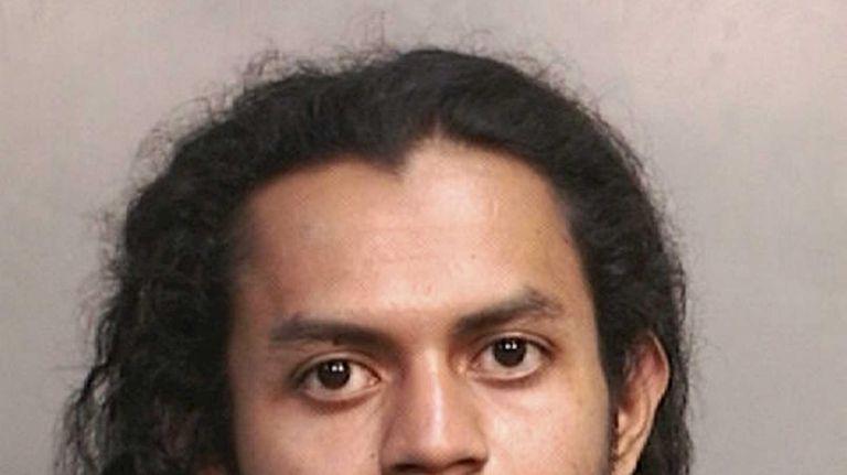 Lorenzo Velasquez, 24, of New Cassel, was arrested