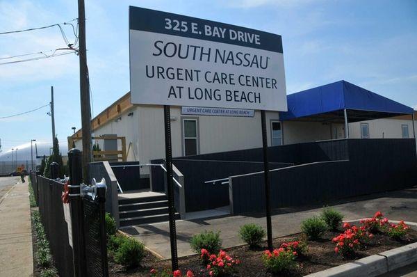 Exterior of the new South Nassau Urgent Care