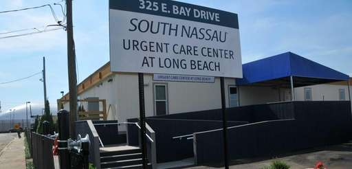 Exterior of the new South Nassau Urgent Care