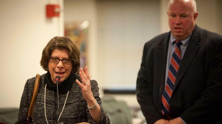 Former Long Island Rail Road president Helena Williams