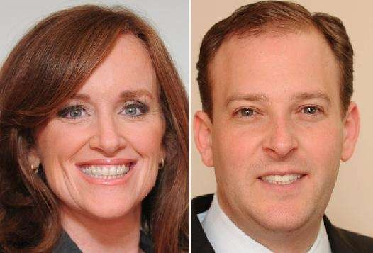 Kathleen Rice, left, current Nassau County district attorney