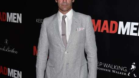 Jon Hamm arrives at The Hollywood Roosevelt Hotel
