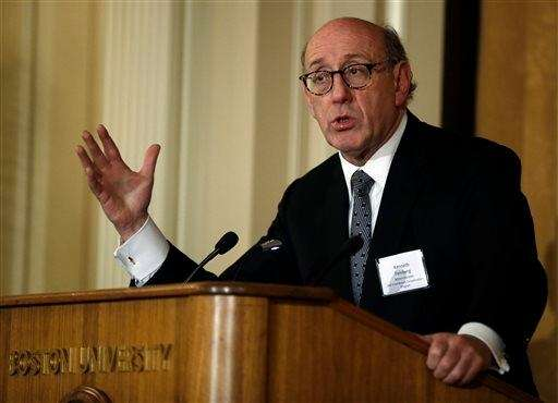 Kenneth Feinberg, seen in this March 24, 2014,