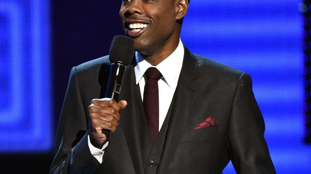 Comedian and actor Chris Rock -- seen here