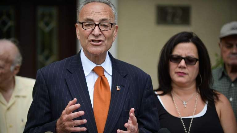 Sen. Charles E. Schumer calls on National Grid