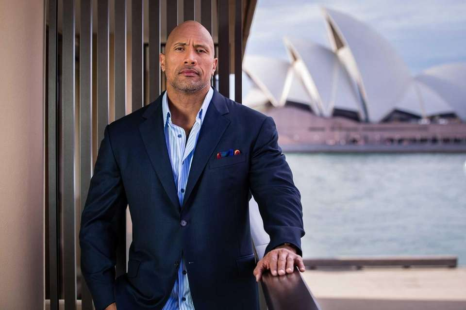 The Rock made the No. 2 spot earning