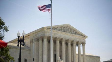 The Supreme Court building in Washington, Monday, June
