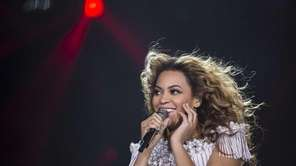 Beyonce performs on May 17, 2013, at the