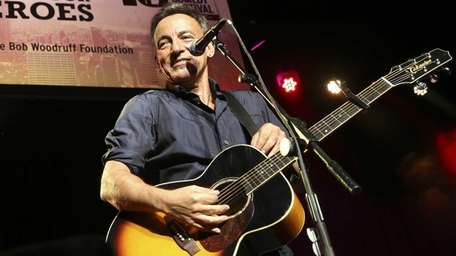 Bruce Springsteen performs at the Stand Up for