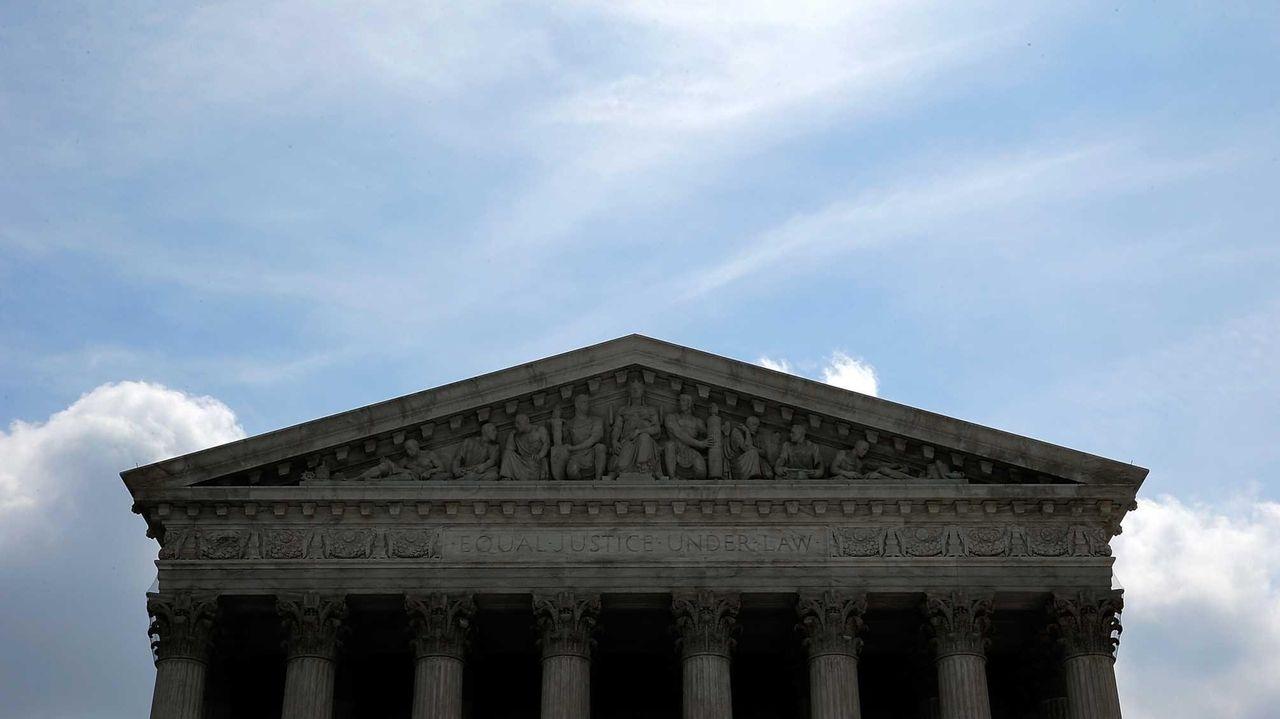 The U.S. Supreme Court in Washington, DC on