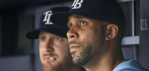 Tampa Bay Rays starting pitcher David Price, right,