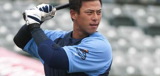 Trenton Thunder infielder Rob Refsnyder poses during Media