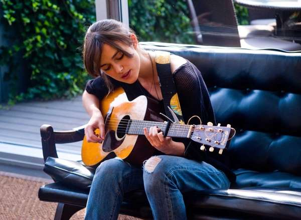 Kiera Knightley stars in 'Begin Again.'