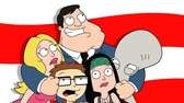"Seth MacFarlane's animated TV series ""American Dad"" centers"