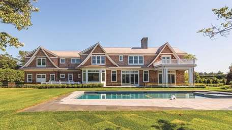 This new shingle-style home in Bridgehampton, which just