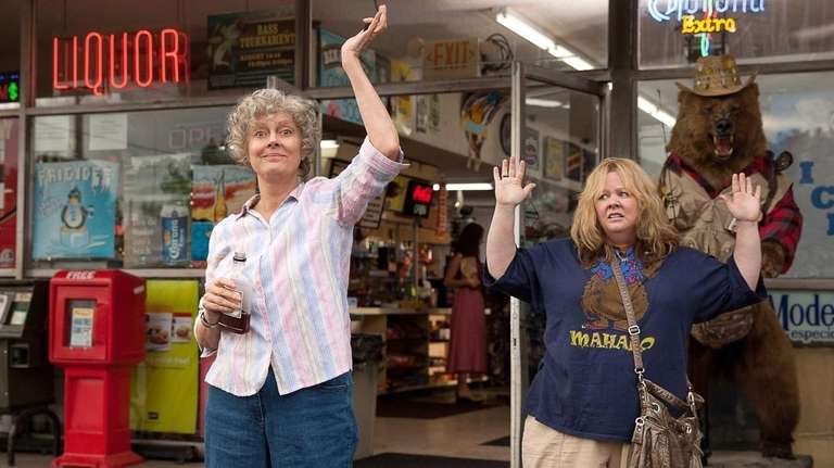 Susan Sarandon, left, and Melissa McCarthy in