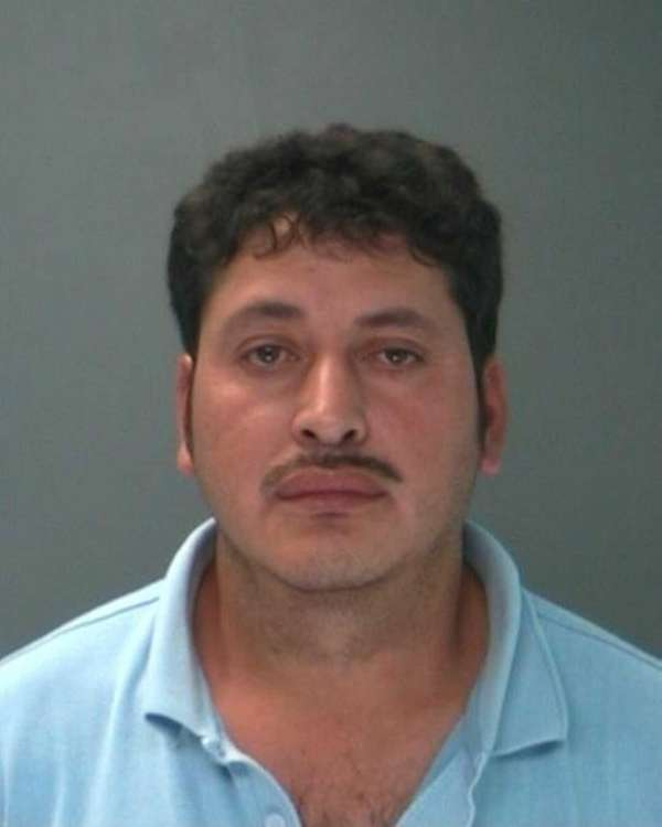 Juan Orellana-Lombalda, 38, of Copiague, was arrested on