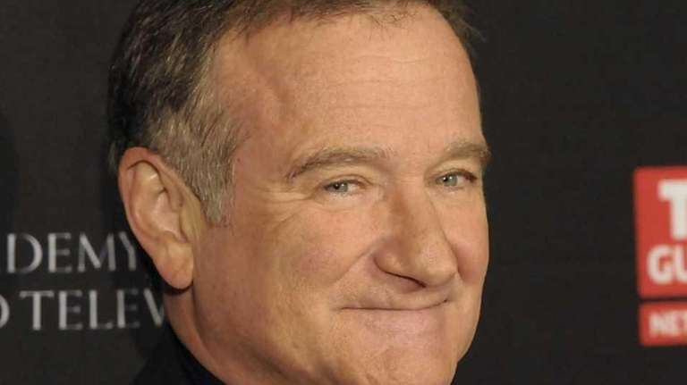 Robin Williams on Nov. 30, 2011.