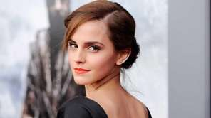 "Emma Watson at the premiere of ""Noah"" on"