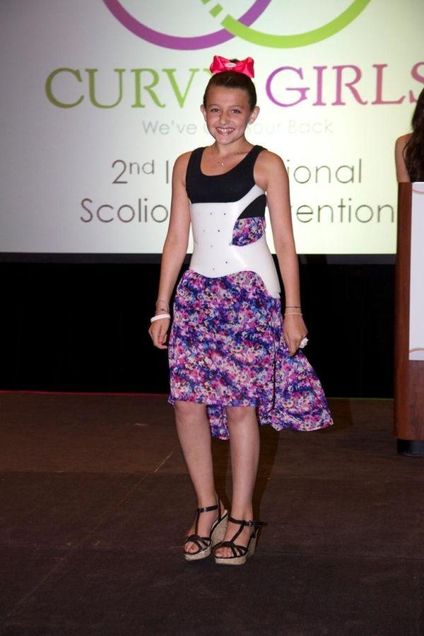 Alexa Castelli, a member of the Long Island