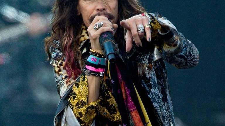 Steven Tyler of Aerosmith performs on Day 1