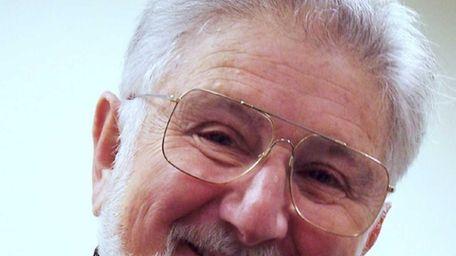Undated photo of Ivar Segalowitz, 83, a Holocaust
