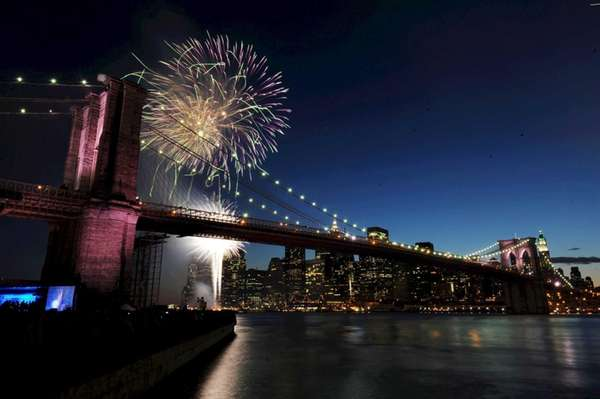 It wouldn't be Independence Day without fireworks launched