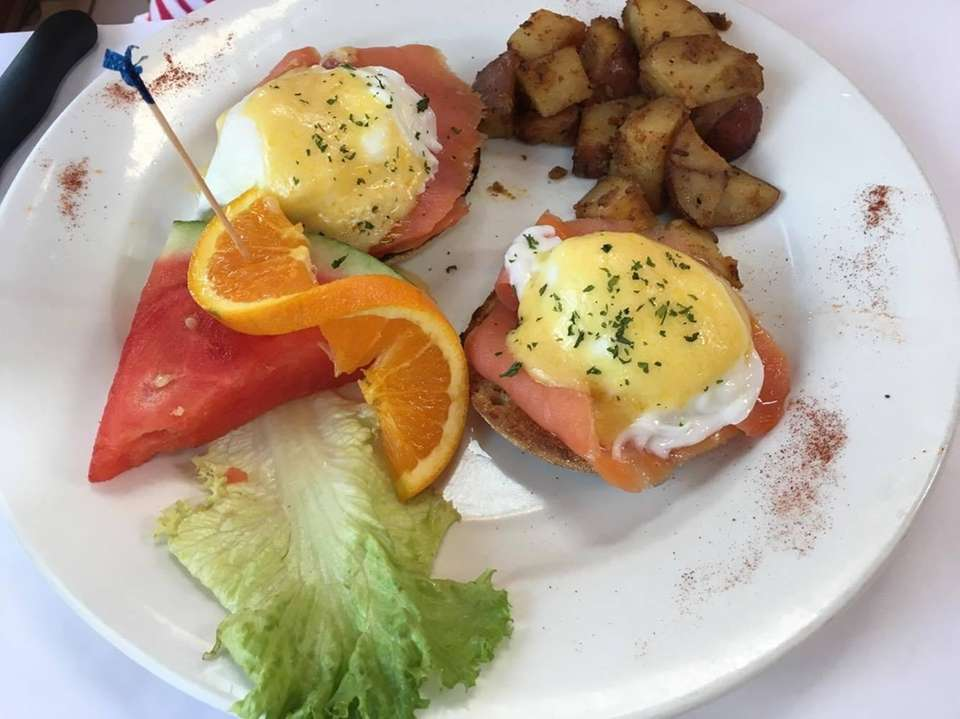 Start the morning off with poached eggs on