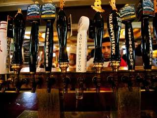 Plenty of beers on tap to choose from