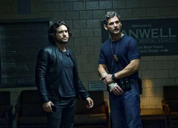 Edgar Ramirez, left, and Eric Bana in a