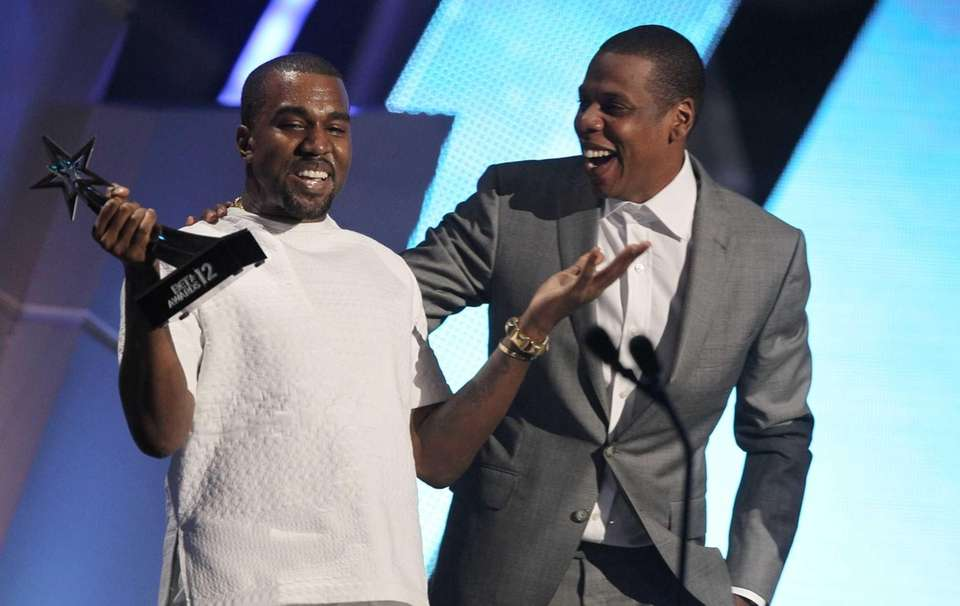 BET Awards Show kanye west and jay z