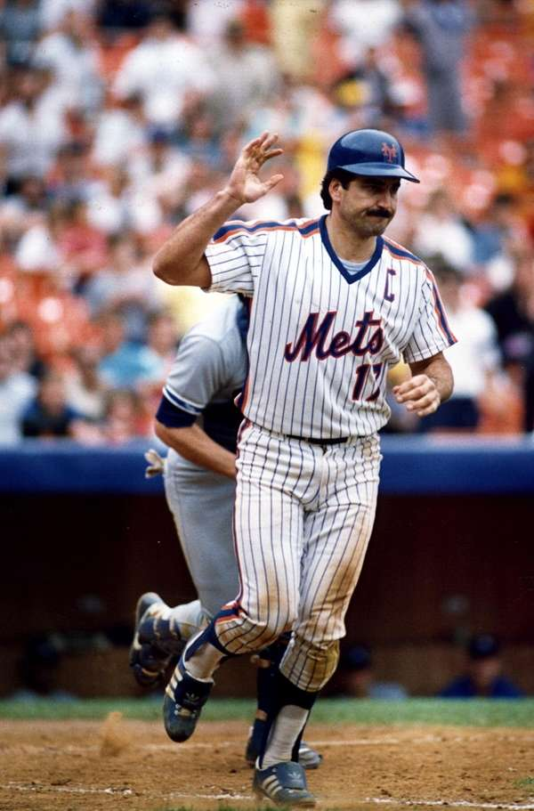 Mets' Keith Hernandez is seen at Shea Stadium.