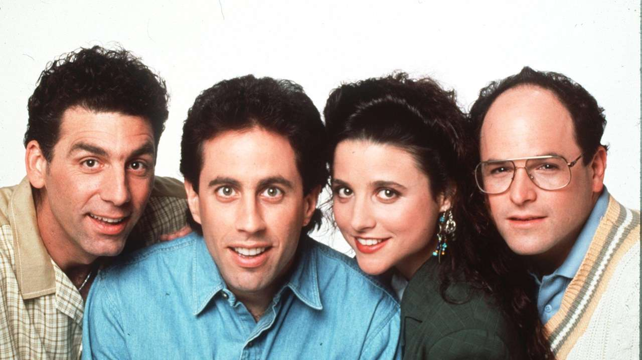Michael Richards Jerry Seinfeld, Julia Louis-Dreyfus and Jason
