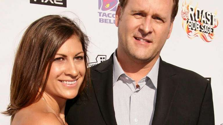 Dave Coulier and Melissa Bring arrive at the