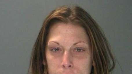 Jacklynn Barkey, 27, of Deer Park, was arrested