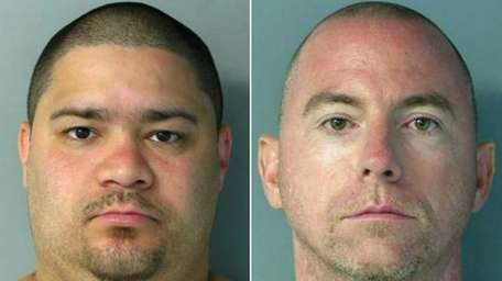Alex R. Vazquez, left, 33, of Laurelton, and