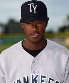 Tampa Yankees pitcher Luis Severino poses for a
