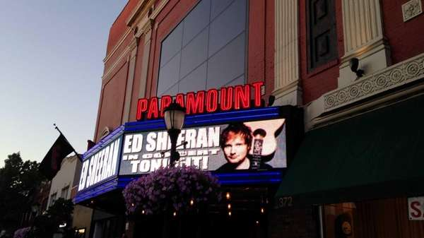 The Paramount Theatre in Huntington hosts a surprise