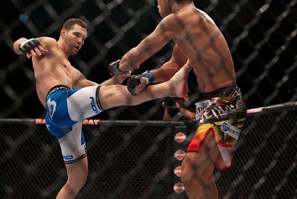 CHRIS WEIDMAN VS. LYOTO MACHIDA UFC 175, July