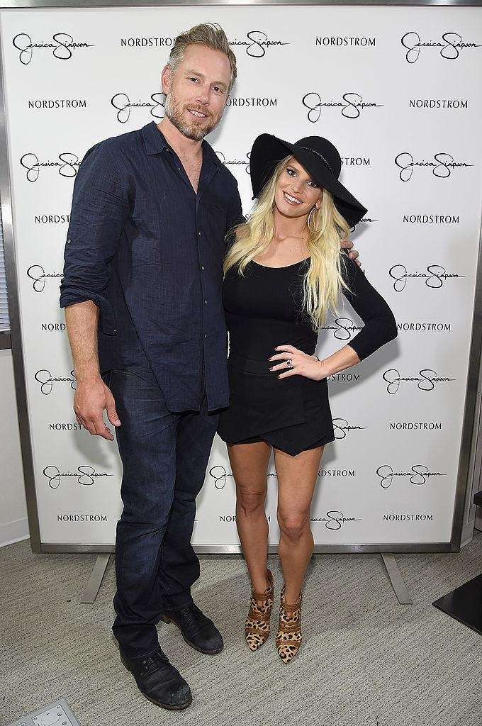 Jessica Simpson and Eric Johnson married on Saturday,