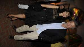 Actor Alec Baldwin and wife Hilaria Thomas attend