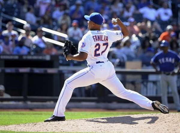 Mets' Jeurys Familia delivers against the Texas Rangers