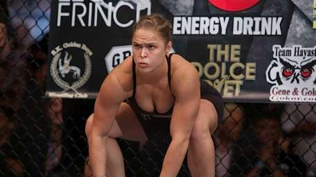 Ronda Rousey needed just 16 seconds to beat