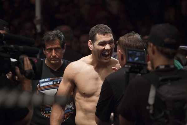 UFC middleweight champion Chris Weidman, from Baldwin, in