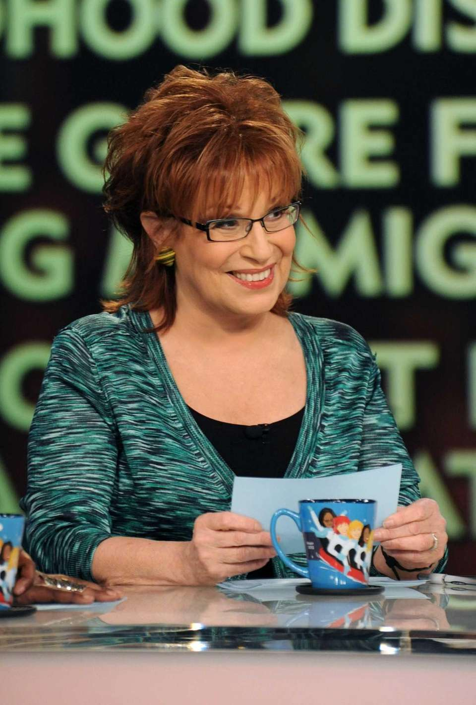 Comedian Joy Behar, an original