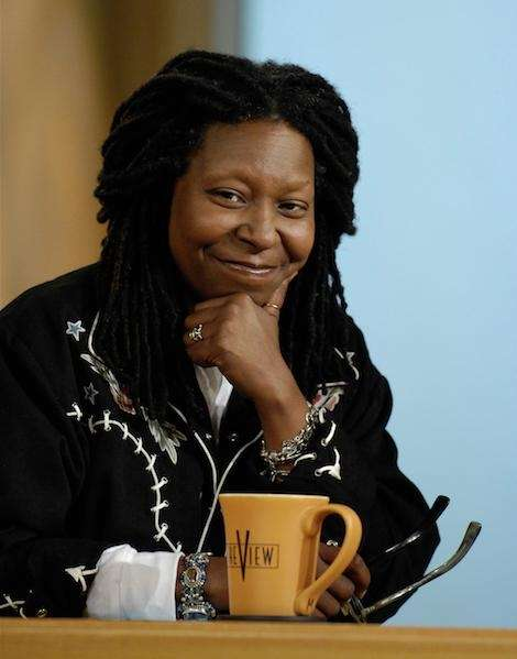 Comedian and actress Whoopi Goldberg entered the fold