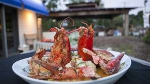"""Millennium"" lobster with mashed potatoes is a hit"