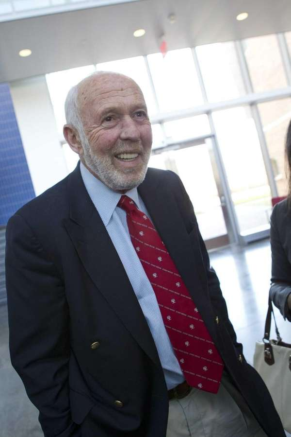 James Simons, who with his wife donated $50