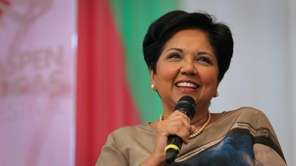 Indra Nooyi, chairman and chief executive of PepsiCo.,