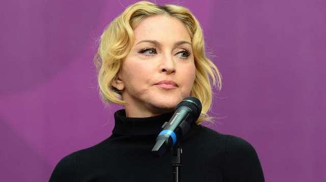 "Madonna hosts ""The Sound of Change Live"" at"